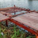 Muelle en construcción